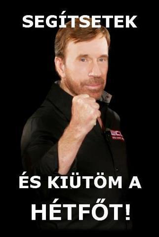 Chuck Norris hétfő