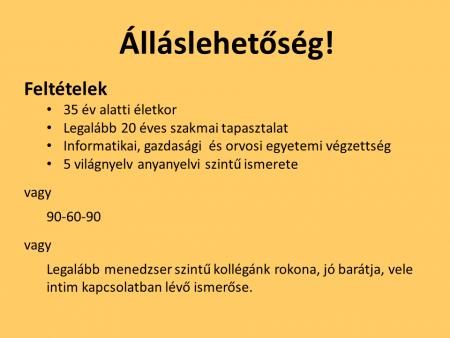 Vicces állások, munkák Magyarországon